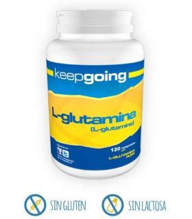 Keepgoing L-Glutamina para mejor recuperación muscular 120 comprimidos