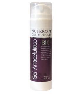 Nutriox Gel Anticelulítico natural con ingredientes lipolíticos 200ml