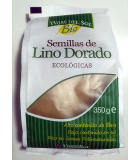 Semillas de lino dorado natural Hijas del Sol Ecológicas 350 gramos