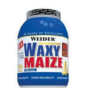 Weider WaxyMaize Hidratos de carbono de asimilación rápida 1.8Kg