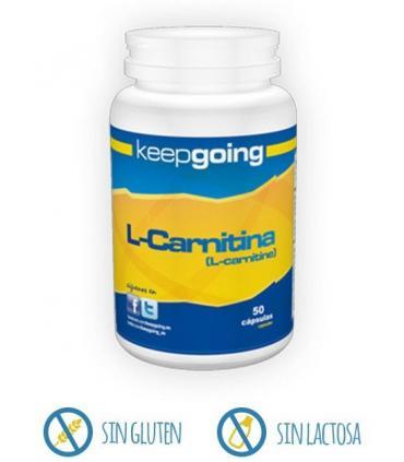 Keepgoing L-Carnitina para transformar la grasa en energía 50 cápsulas