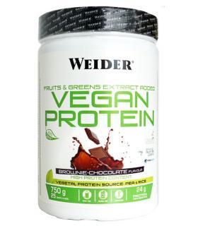 Weider vegan protein sabor chocolate