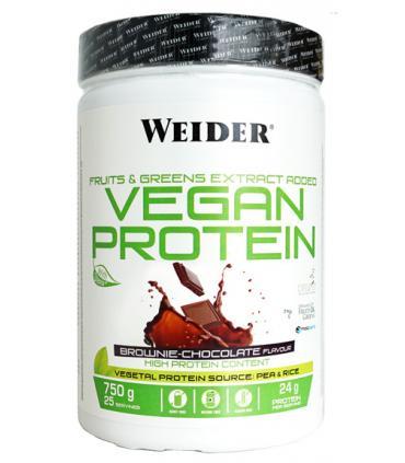 Proteína vegana de guisante y arroz integral Weider Vegan Protein