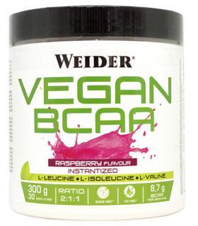 Weider Vegan BCAA aminoácidos veganos para aumento muscular 300gr