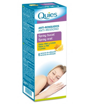 Quies antironquidos en spray bucal antirronquidos 70ml
