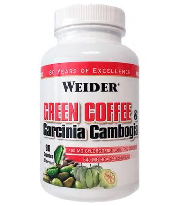 Weider Green Coffee y Garcinia Gambogia