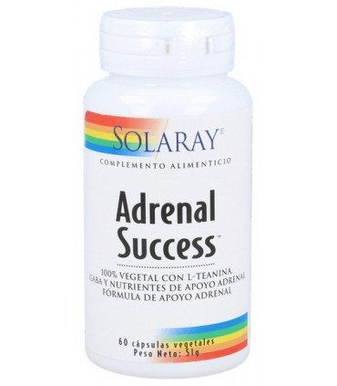 Solaray Adrenal Success para combatir el estrés 60 cápsulas