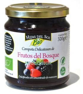 Mermelada natural sabor frutas del bosque Hijas del Sol