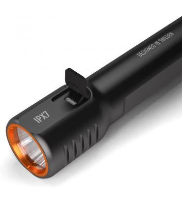 Linterna recargable por USB