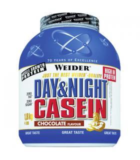 Caseína Weider Day & Night Casein proteína de larga duración 1.8Kg