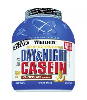 Weider Casein Day & Night Casein sabor chocolate