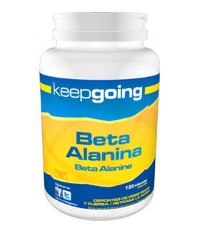 Keepgoing Beta Alanina en cápsulas