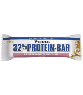 Barrita proteína Weider 32% Protein bar 60 gramos