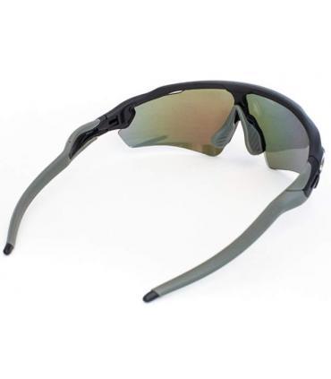 Gafas para correr negras y grises