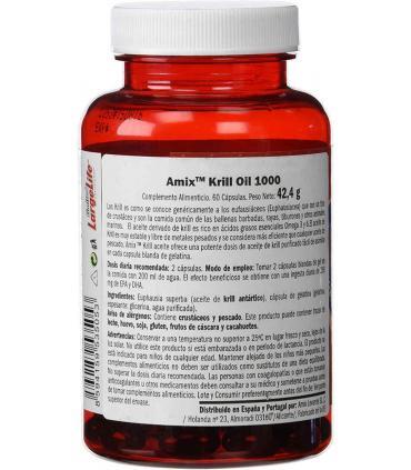 Parte trasera bote Amix Krill Oil