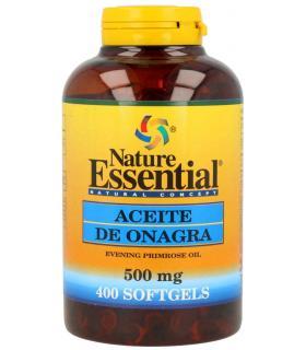 Nature Essential Aceite de Onagra 500mg 400 perlas