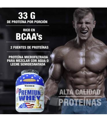 proteína premium whey Weider