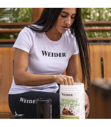 batido de proteínas veganas weider