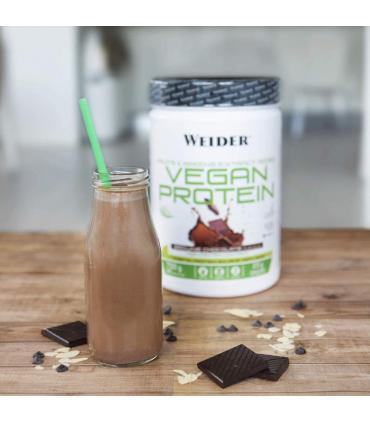 batido de proteínas veganas Weide sabor chocolate