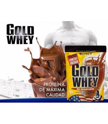 batido proteína Weider Gold Whey