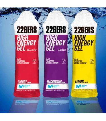 geles energéticos 226ers high energy que no necesitan agua