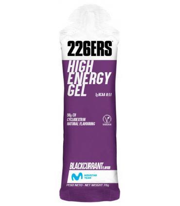 226ers High Energy gel con aminoácidos sabor blackcurrant