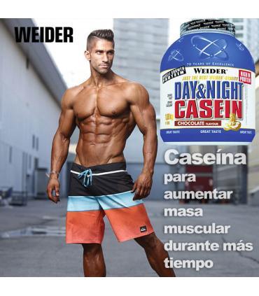 Weider Casein para aumentar masa muscular