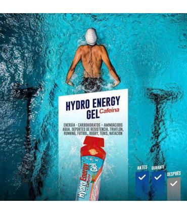 Beneficios hydro energy gel con cafeína