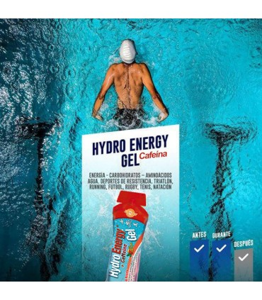 Beneficios hydro energy gel con cafeína