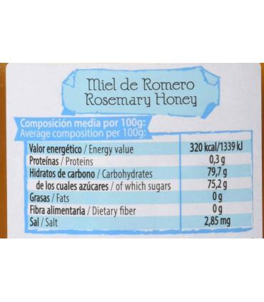 información nutricional miel mellarius romero
