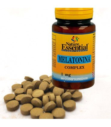 Nature Essential Melatonina Complex 60 comprimidos 1mg