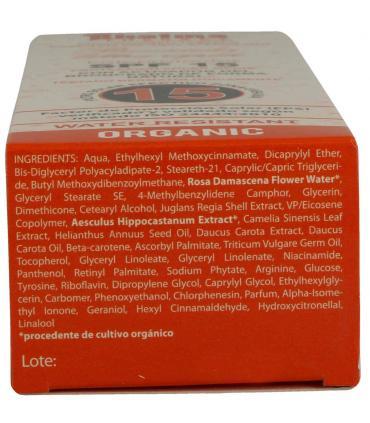 Ingredientes bronceador Rhatma