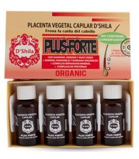 D'Shila Plus Forte tratamiento de shock frena la caída del cabello 4 unidades
