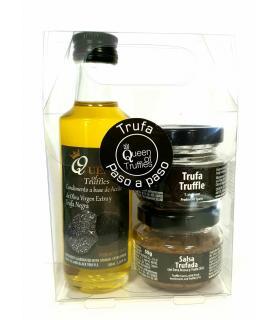 Pack trufa paso a paso con salsa de setas trufada Queen of truffles