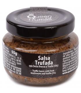 salsa de setas con trufa negra de verano