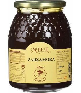 Bote cristal miel Buleo Zarzamora 1 kilo