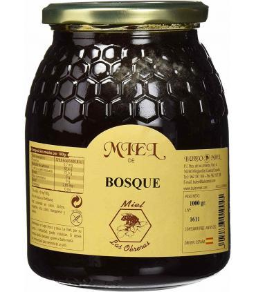 Bote cristal miel Buleo Bosque 1 kilo