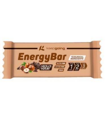 Keepgoing energybar sabor chocolate con avellanas