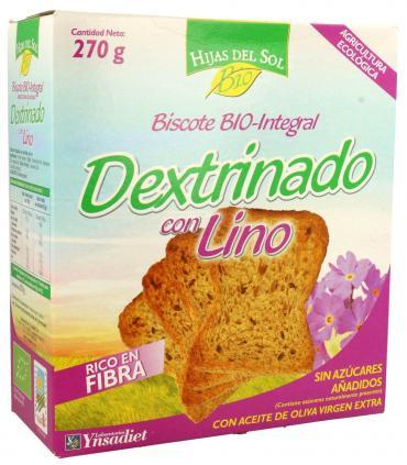 Pan dextrinado con semillas de lino Hijas de Sol Ynsadiet 270 gramos