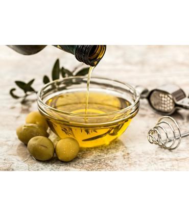 presentación en tarro con aceite de oliva virgen extra condimentado