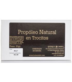 Buleo miel Propóleo natural puro en trocitos 20 gramos