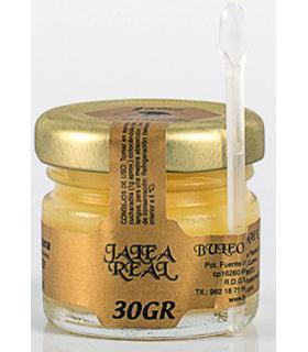 Buleo Miel jalea real fresca en frasco de 30 gramos