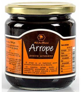 Buleo arrope con miel, fruta, calabaza y esencia de anís