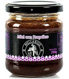 Mellarius miel con propóleo en bote de 250 gramos