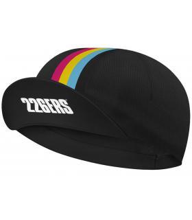 gorra para correr 226ers y ciclismo color negra