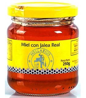 Mellarius miel con jalea real en 250 gramos