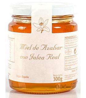 Miel de Azahar con Jalea Real Buleo Miel 300 gramos