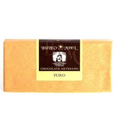 tableta de chocolate artesanal con cacao puro buleo miel