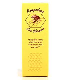 Propóleo en spray para la garganta Las Obreras Buleo Miel 20ml
