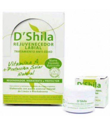 D'Shila bálsamo labial tratamiento rejuvenecedor anti-edad 15ml
